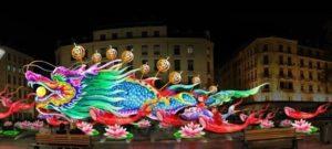 Carpe chinoise Fête des Lumières Lyon