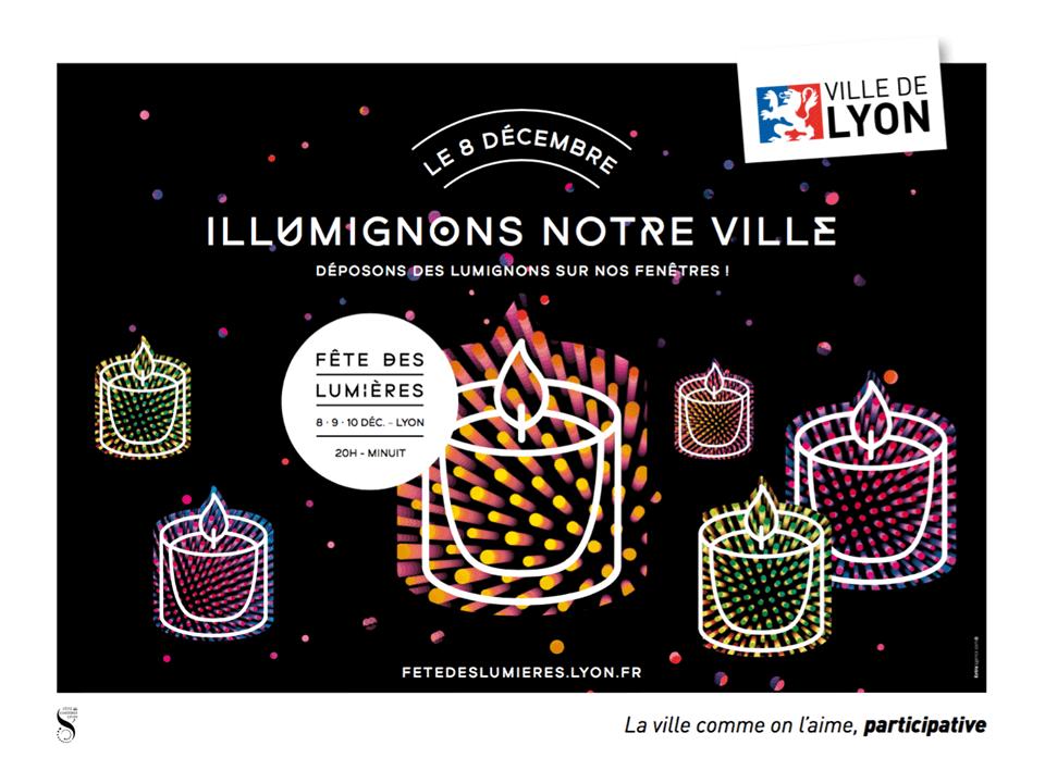 Lumignons Fête Lumières Lyon