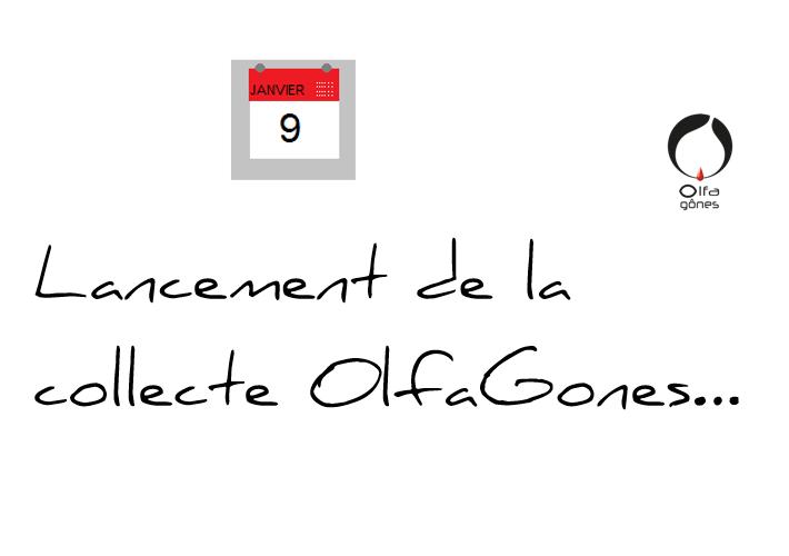 Lancement collecte OlfaGones