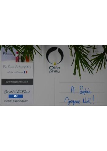 Bon cadeau - 15 Euros à valoir sur les collections OlfaPhily & OlfaGones