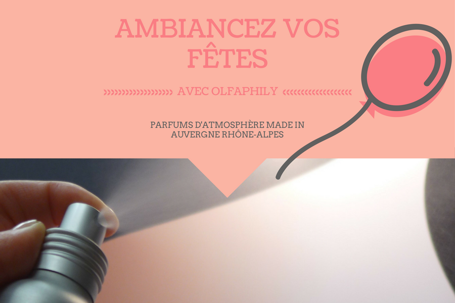 Parfum ambiance fete OlfaPhily
